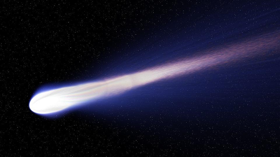 Cometa. Fuente: Pixabay
