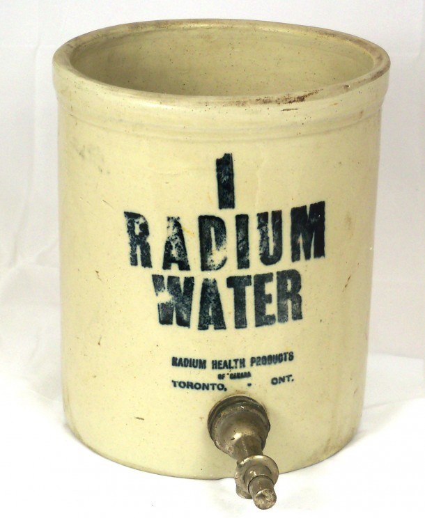 Jarra irradiadora - Fuente: Wikimedia