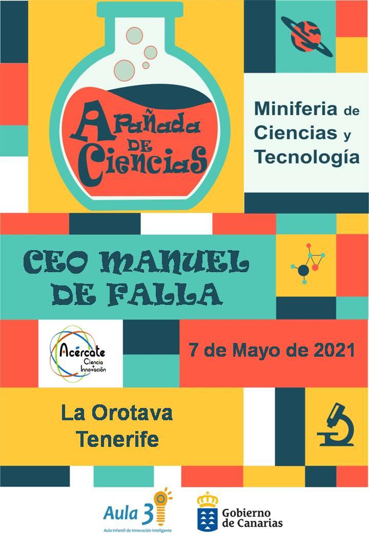 CEO_Manuel_de_Falla Vuelven las 'Apañadas de Ciencias' a Fuerteventura