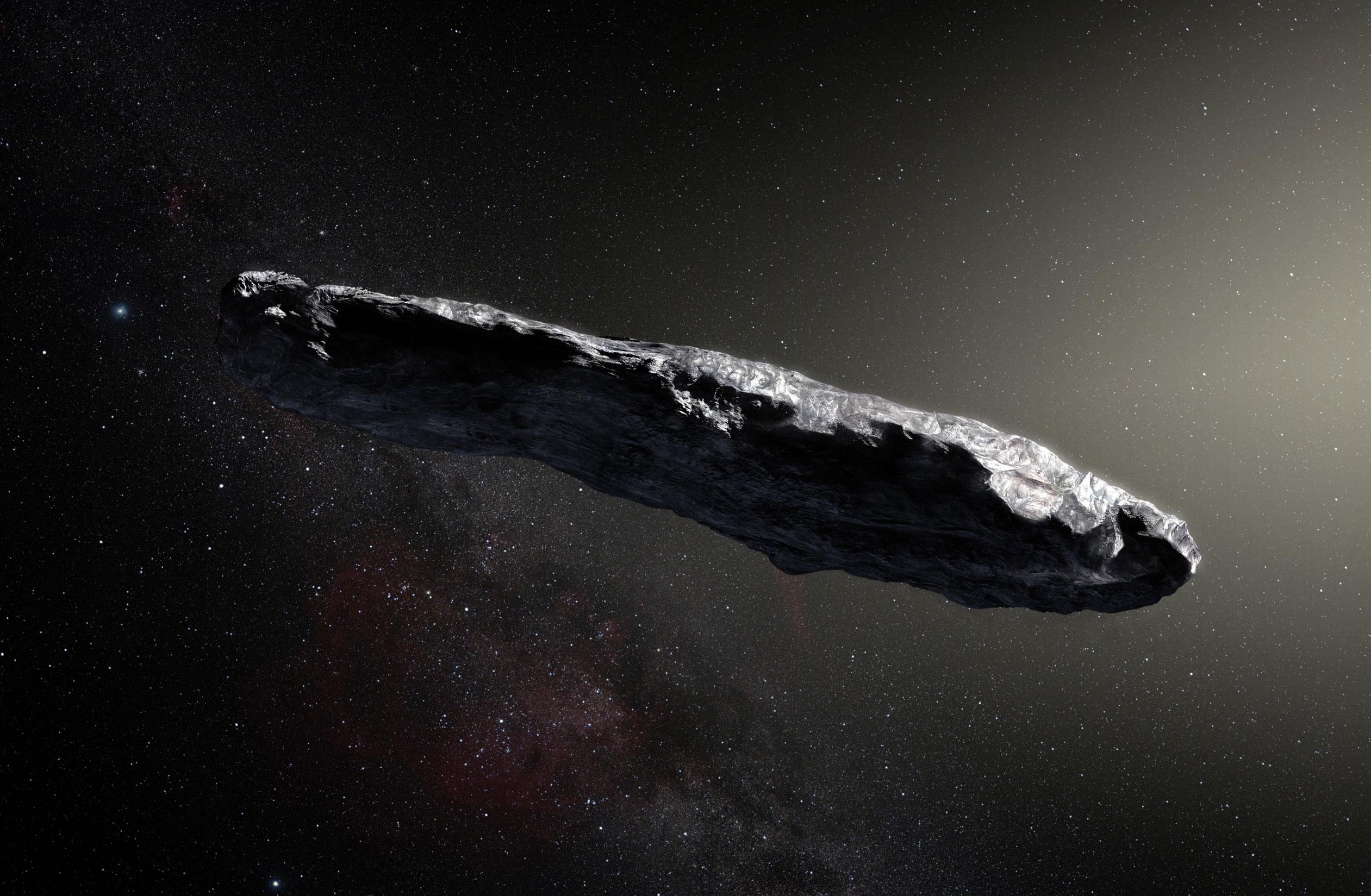 'Oumuamua: Wikimedia