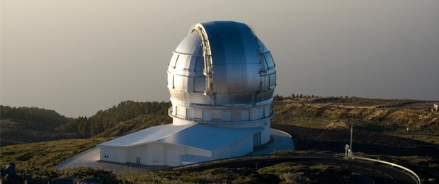 Gran Telescopio de Canarias - Fuente: Wikimedia