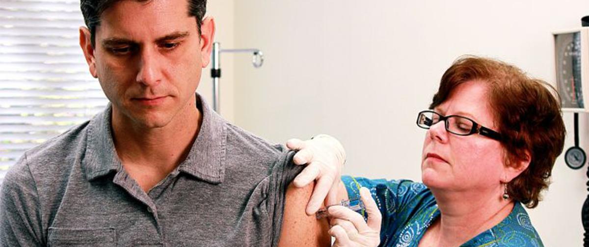Vacunación. Fuente: Wikimedia