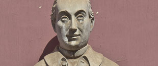 Busto de José de Viera y Clavijo. Fuente Wikimedia