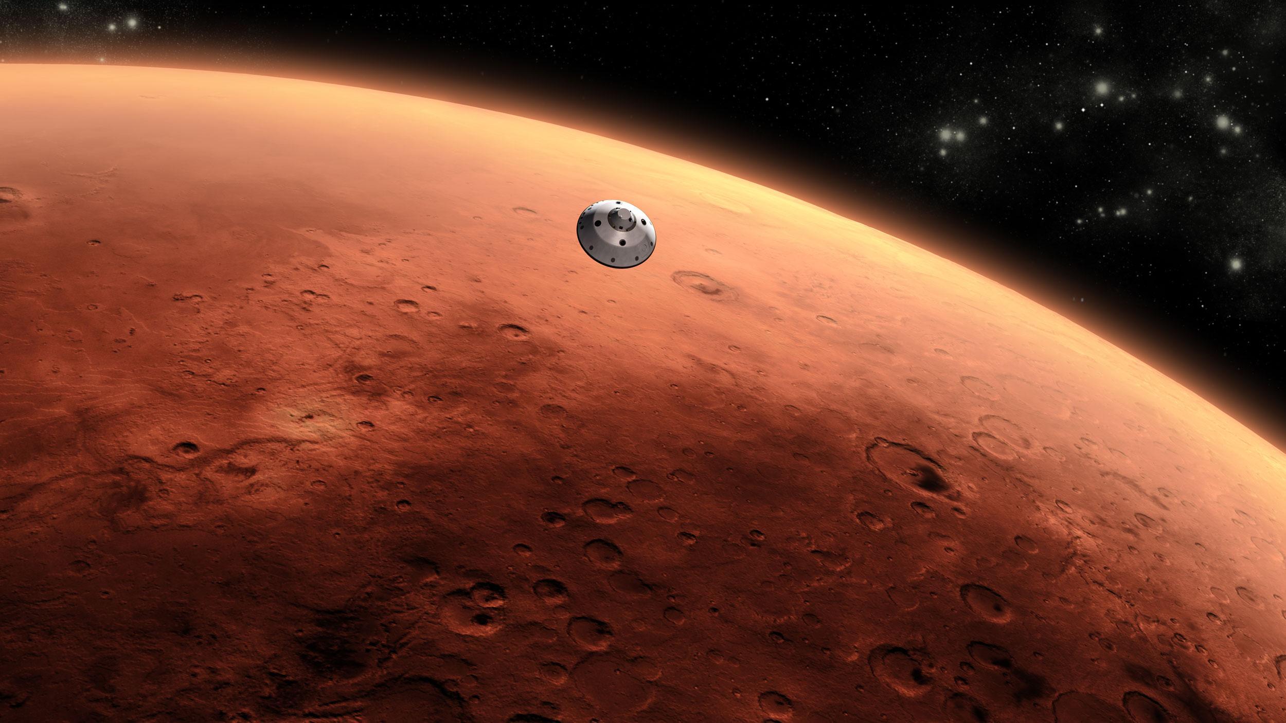 2.Marte. Fuente: NASA