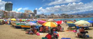 Playa de las Canteras . Fuente: El Coleccionista de Instantes   Flickr