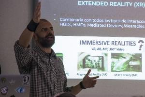 aller 'Introducción a la extended reality XR (VR+AR+MR+V360)'. El Hierro. 18-12-2017_11