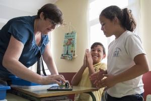 Introducción a la robótica educativa en primaria