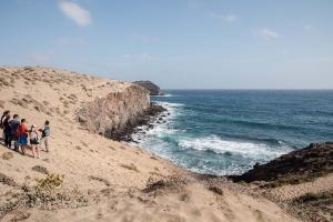 Visita al yacimiento arqueológico de Tufia. Telde. Gran Canaria. 11-11-17_10