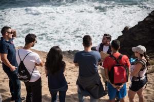 Visita al yacimiento arqueológico de Tufia. Telde. Gran Canaria. 11-11-17_12
