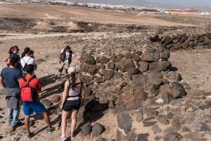 Visita al yacimiento arqueológico de Tufia. Telde. Gran Canaria. 11-11-17_28