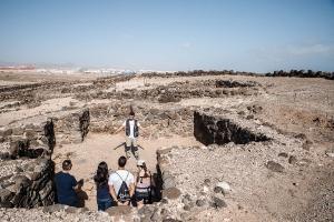 Visita al yacimiento arqueológico de Tufia. Telde. Gran Canaria. 11-11-17_32