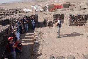 Visita al yacimiento arqueológico de Tufia. Telde. Gran Canaria. 11-11-17_33