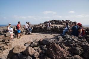 Visita al yacimiento arqueológico de Tufia. Telde. Gran Canaria. 11-11-17_34