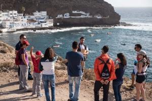 Visita al yacimiento arqueológico de Tufia. Telde. Gran Canaria. 11-11-17_8